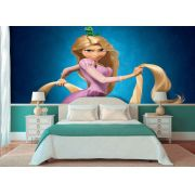 Papel de Parede Infantil Rapunzel  0011