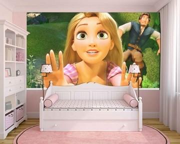 Papel de Parede Infantil Rapunzel  0013