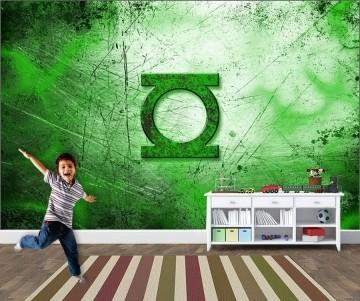 Papel de Parede Infantil Super Heróis 0012 - Adesivos de Parede