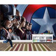 Papel de Parede Infantil Super Heróis 0020 - Adesivos de Parede