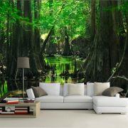 Papel de Parede Paisagens Floresta 0026 - Adesivo de Parede
