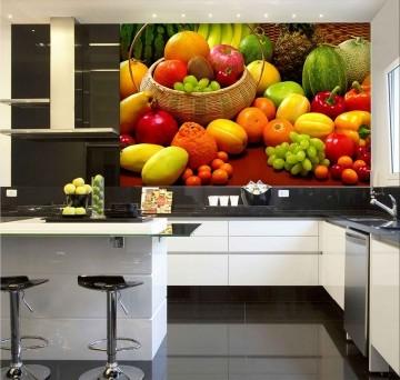 Papel De Parede Para Cozinha 0011 - Sobmedida: m²