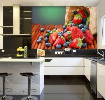 Papel De Parede Para Cozinha 0016 - Sobmedida: m²
