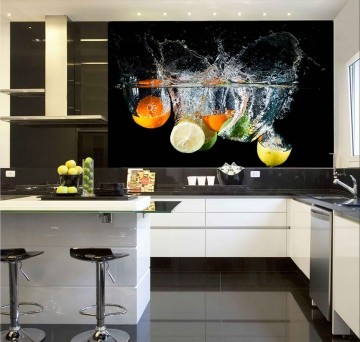 Papel De Parede Para Cozinha 0023 - Sobmedida: m²