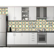 Papel de Parede para Cozinha Azulejos 0001 - Adesivos de Parede