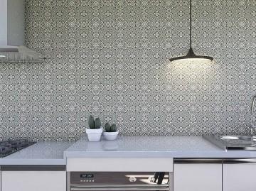 Papel de Parede para Cozinha Azulejos 0006 - Adesivos de Parede