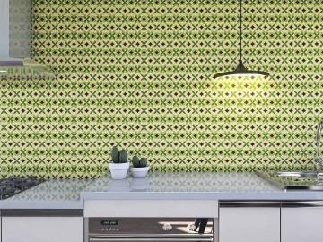 Papel de Parede para Cozinha Azulejos 0011 - Adesivos de Parede