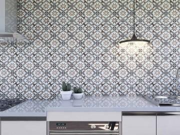 Papel de Parede para Cozinha Azulejos 0014 - Adesivos de Parede