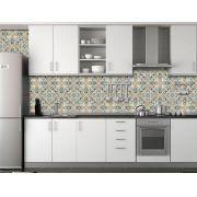 Papel de Parede para Cozinha Azulejos 0016 - Adesivos de Parede
