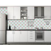 Papel de Parede para Cozinha Azulejos 0017 - Adesivos de Parede