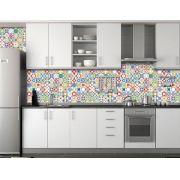 Papel de Parede para Cozinha Azulejos 0020 - Adesivos de Parede