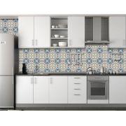 Papel de Parede para Cozinha Azulejos 0022 - Adesivos de Parede