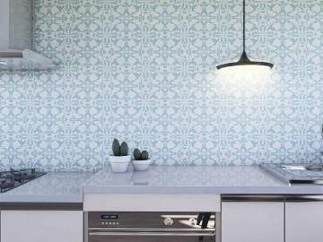 Papel de Parede para Cozinha Azulejos 0024 - Adesivos de Parede