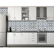 Papel de Parede para Cozinha Azulejos 0025 - Adesivos de Parede
