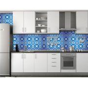 Papel de Parede para Cozinha Azulejos 0039 - Adesivos de Parede