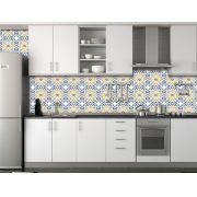 Papel de Parede para Cozinha Azulejos 0040 - Adesivos de Parede