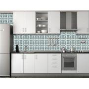 Papel de Parede para Cozinha Azulejos 0043 - Adesivos de Parede