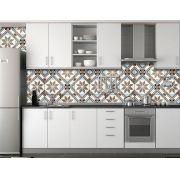 Papel de Parede para Cozinha Azulejos 0045 - Adesivos de Parede