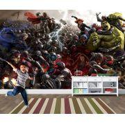 Papel de Parede para Quarto Infantil Super Heróis 0035