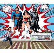 Papel de Parede para Quarto Infantil Super Heróis 0038
