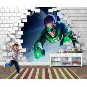 Papel de Parede para Quarto Infantil Super Heróis 0044
