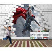 Papel de Parede para Quarto Infantil Super Heróis 0048