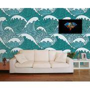 Papel de Parede para Sala Abstrato 0020