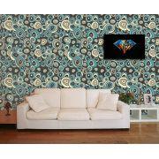 Papel de Parede para Sala Abstrato 0047