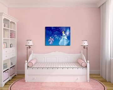 Quadro Decorativo Cinderela 0006