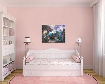 Quadro Decorativo Cinderela 0007