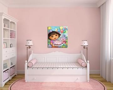 Quadro Decorativo Dora Aventureira 0005
