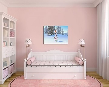 Quadro Decorativo Frozen 0004