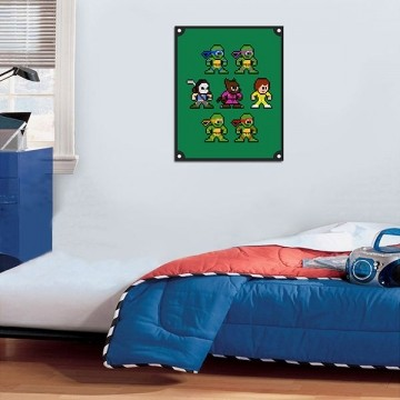 Quadro Decorativos Tartarugas Ninjas 0004