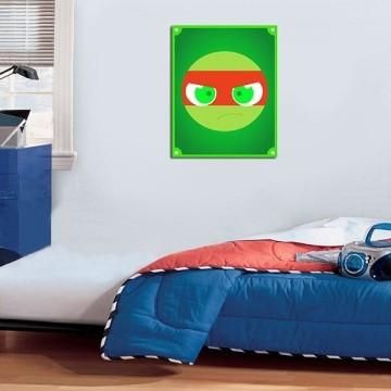 Quadro Decorativos Tartarugas Ninjas 0005