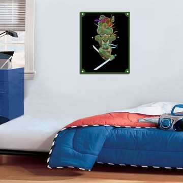 Quadro Decorativos Tartarugas Ninjas 0017