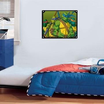 Quadro Decorativos Tartarugas Ninjas 0023
