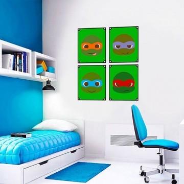 Quadro Decorativos Tartarugas Ninjas 0033