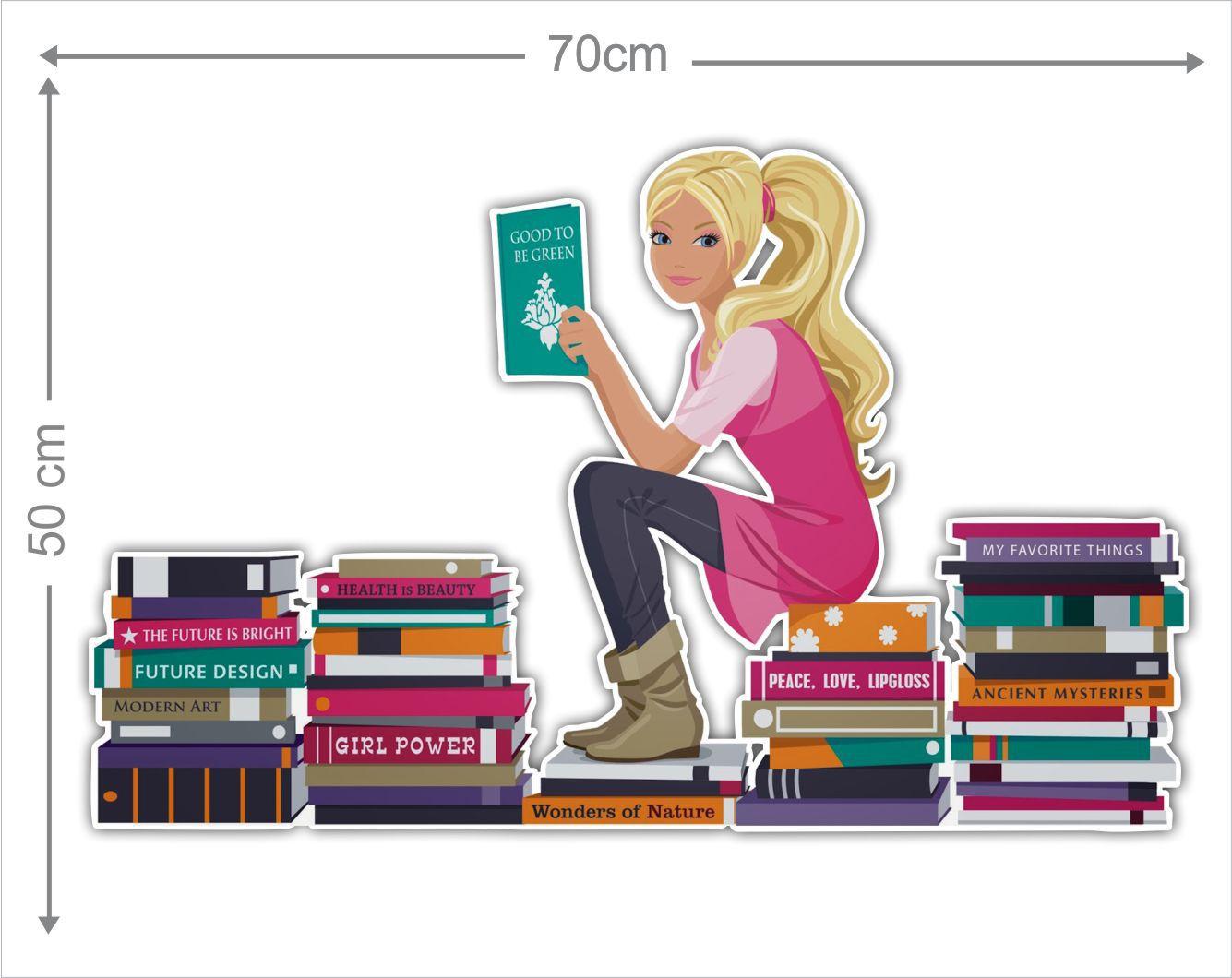 Adesivo Decorativo Barbie 0002  - Paredes Decoradas