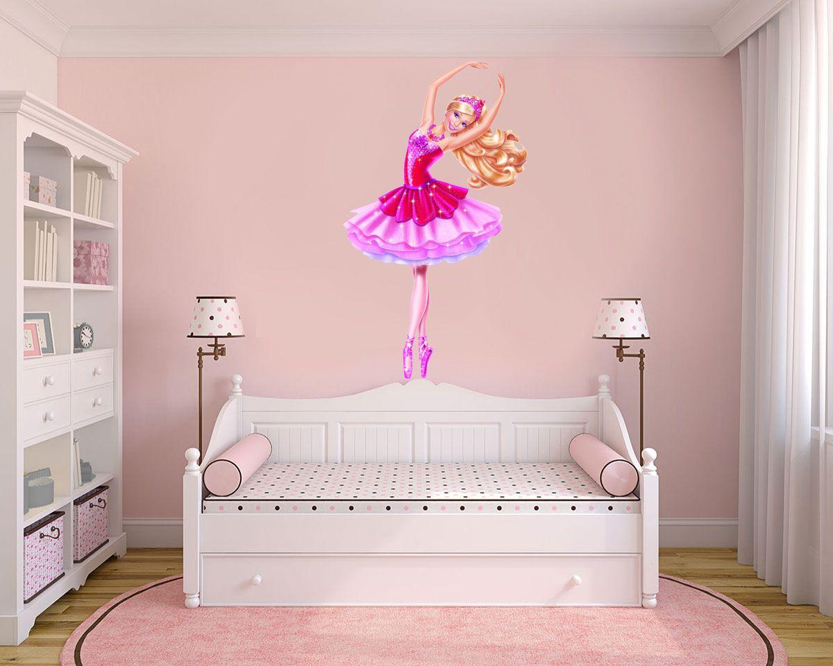 Adesivo Decorativo Barbie 0003