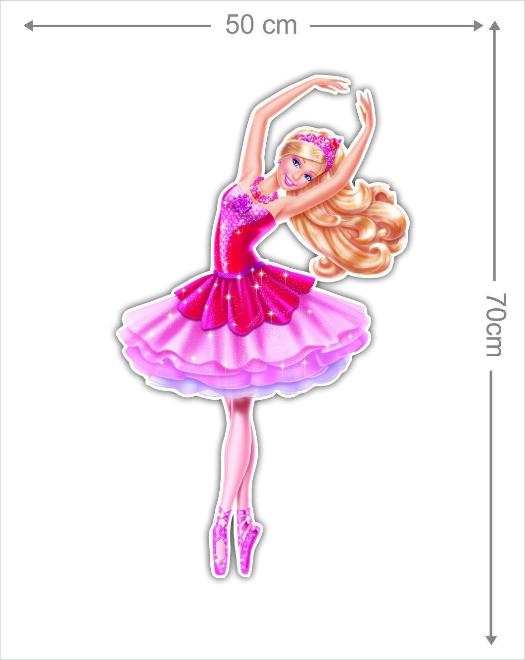 Adesivo Decorativo Barbie 0003  - Paredes Decoradas