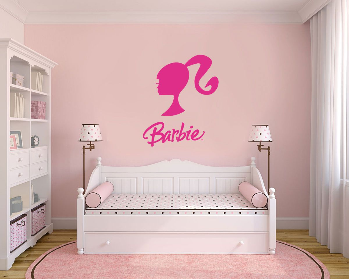 Adesivo Decorativo Barbie 0005  - Paredes Decoradas