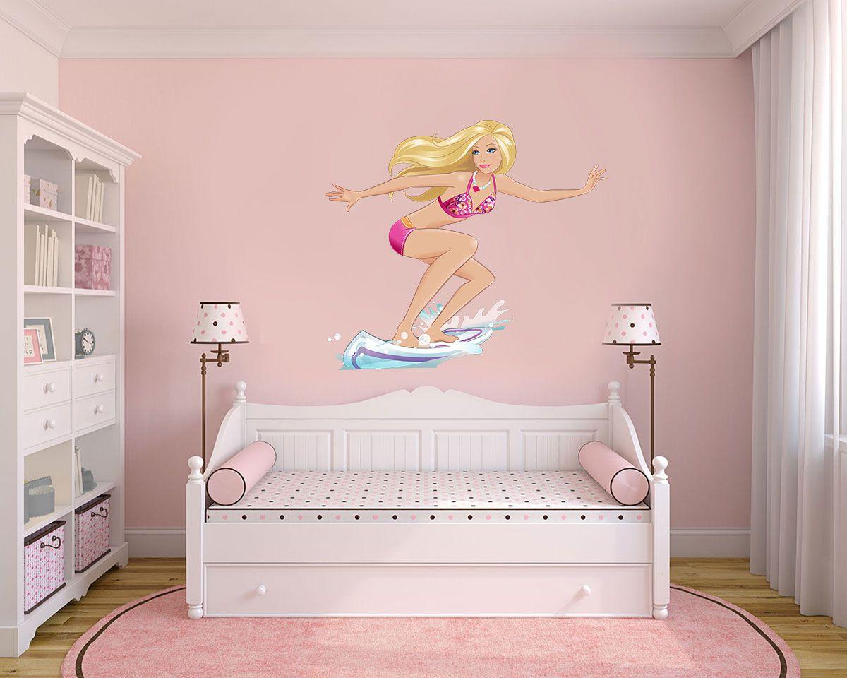 Adesivo Decorativo Barbie 0006  - Paredes Decoradas