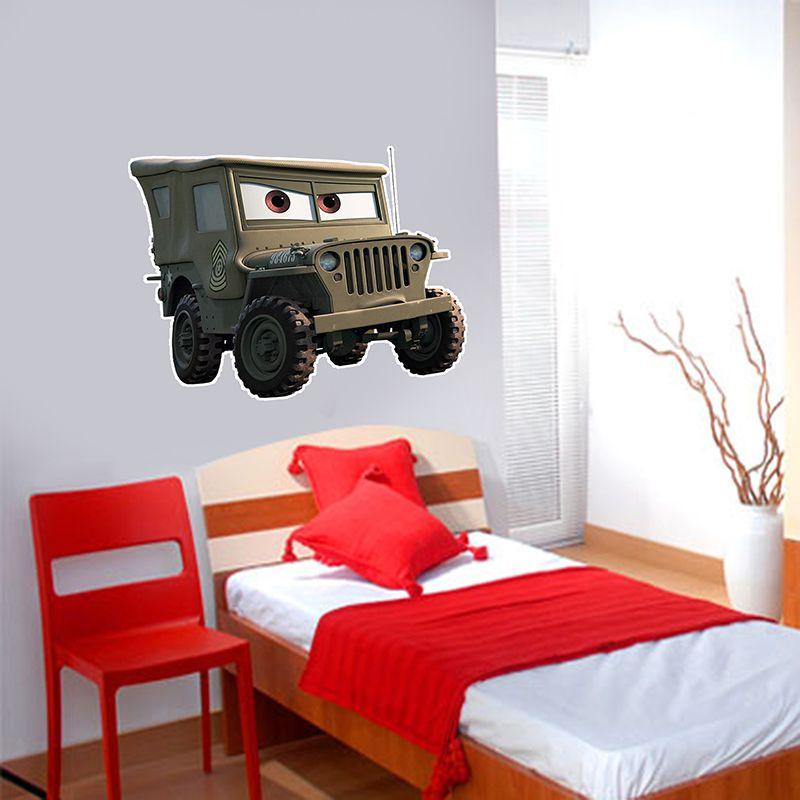 Adesivo Decorativo Carros 0001  - Paredes Decoradas