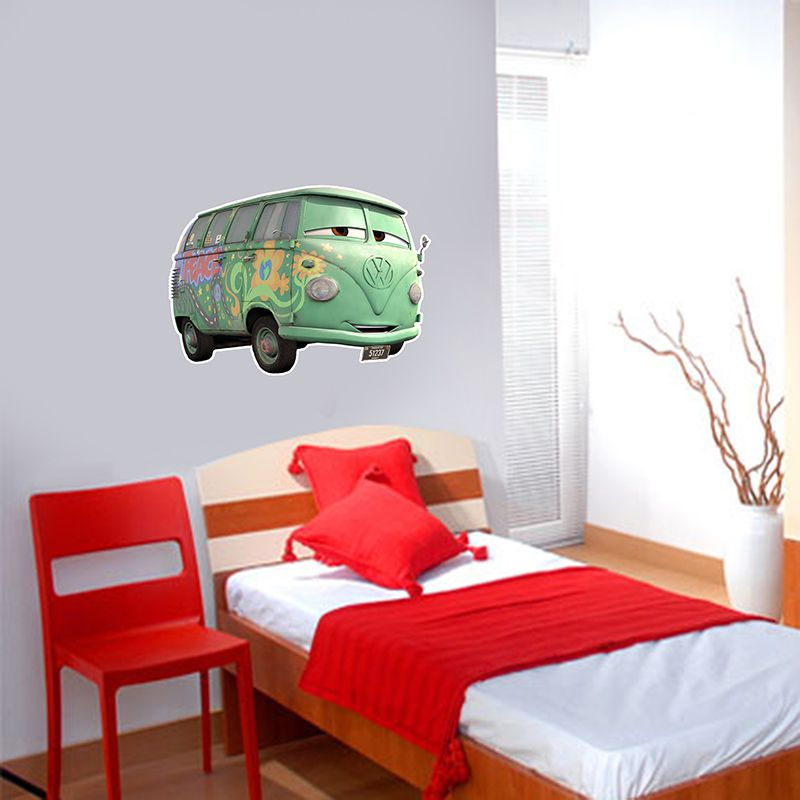 Adesivo Decorativo Carros 0003  - Paredes Decoradas