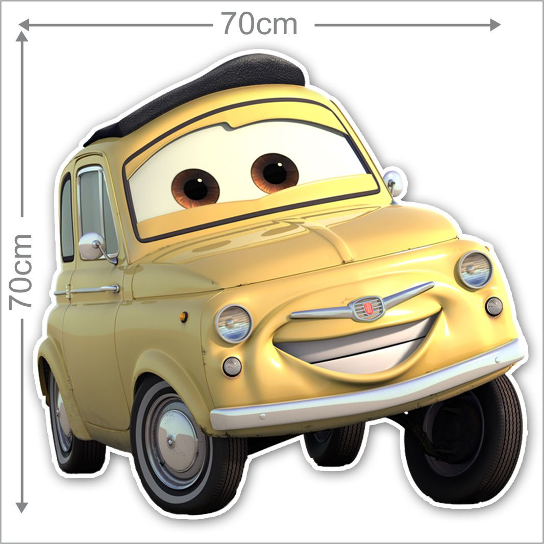 Adesivo Decorativo Carros 0005  - Paredes Decoradas