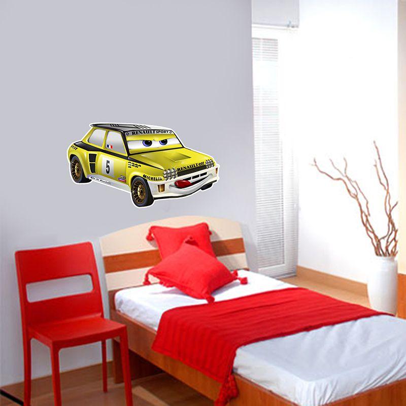 Adesivo Decorativo Carros 0008  - Paredes Decoradas