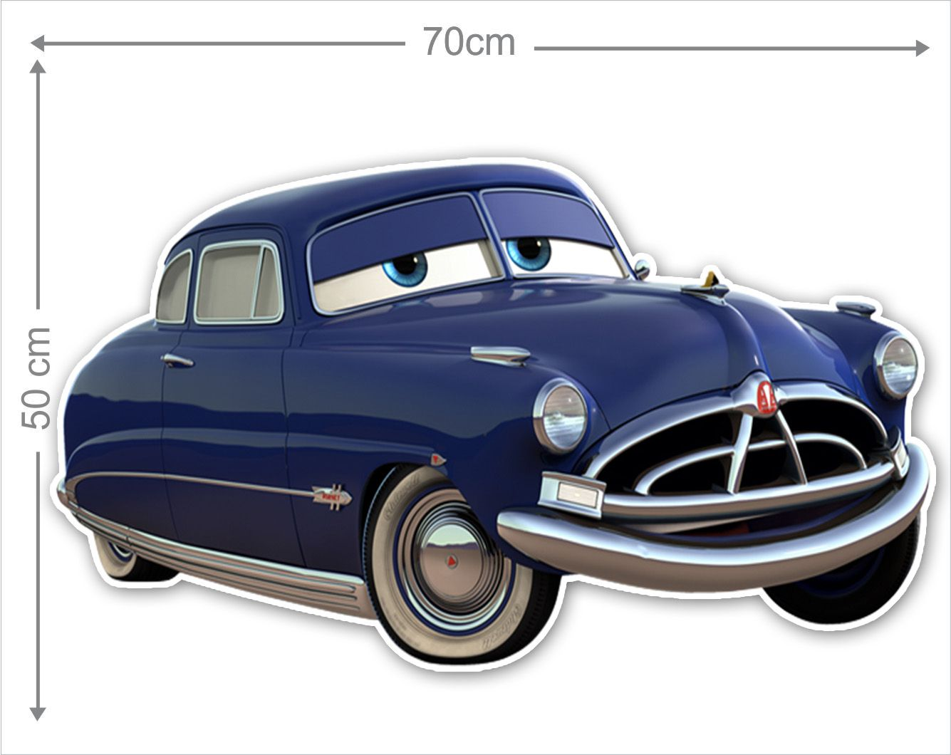 Adesivo Decorativo Carros 0013  - Paredes Decoradas