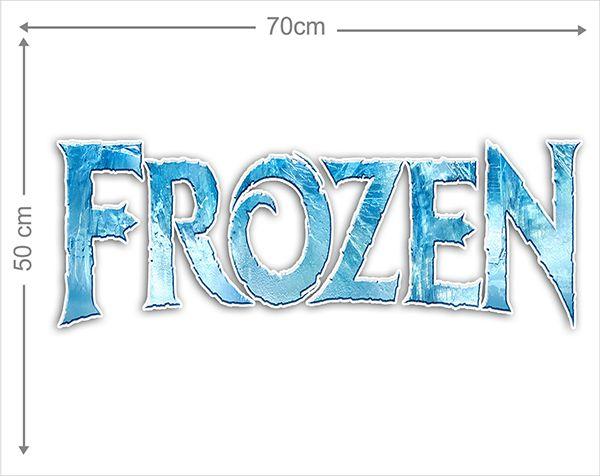 Adesivo Decorativo Frozen 0009  - Paredes Decoradas