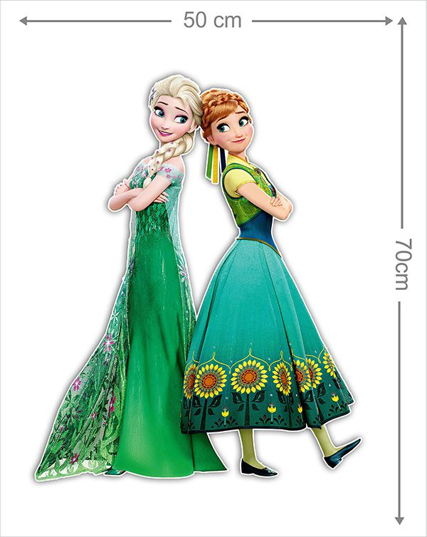 Adesivo Decorativo Frozen 0010  - Paredes Decoradas