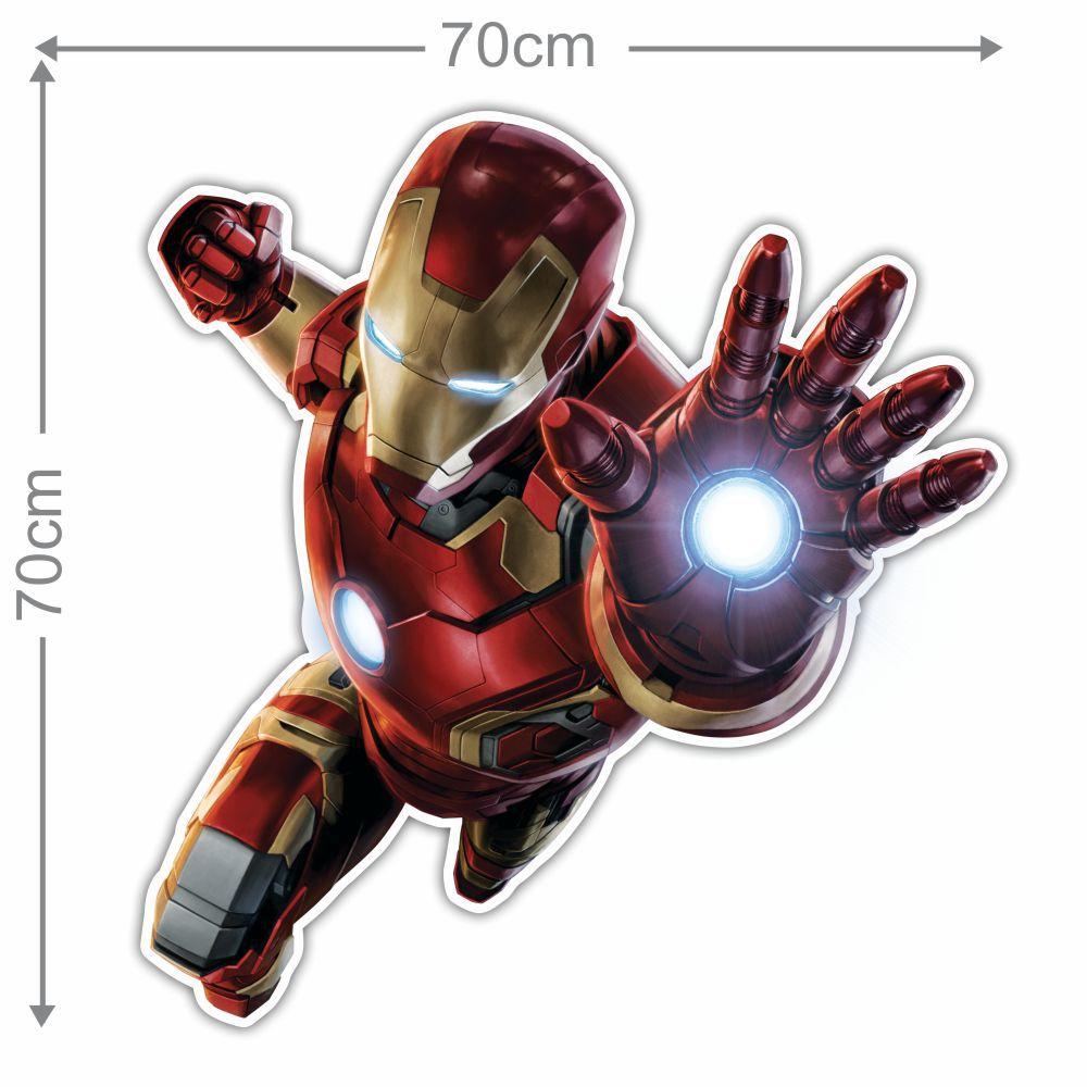 Adesivo Decorativo Heróis 0001  - Paredes Decoradas